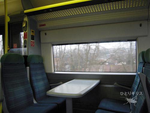 鉄道のシート